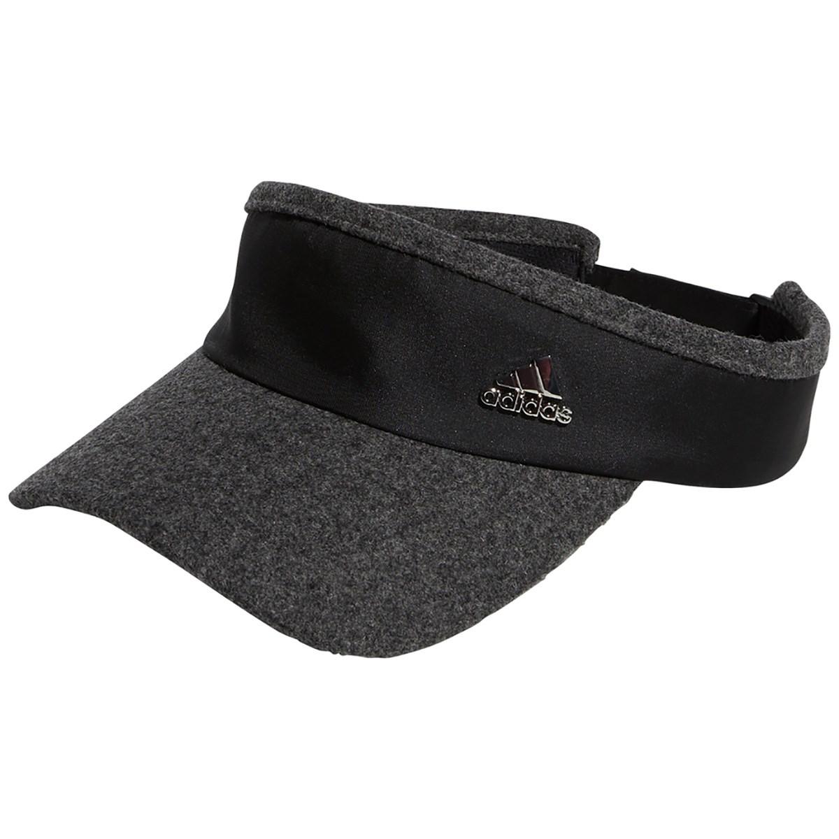 アディダス Adidas メタルロゴサンバイザー フリー ブラック レディス