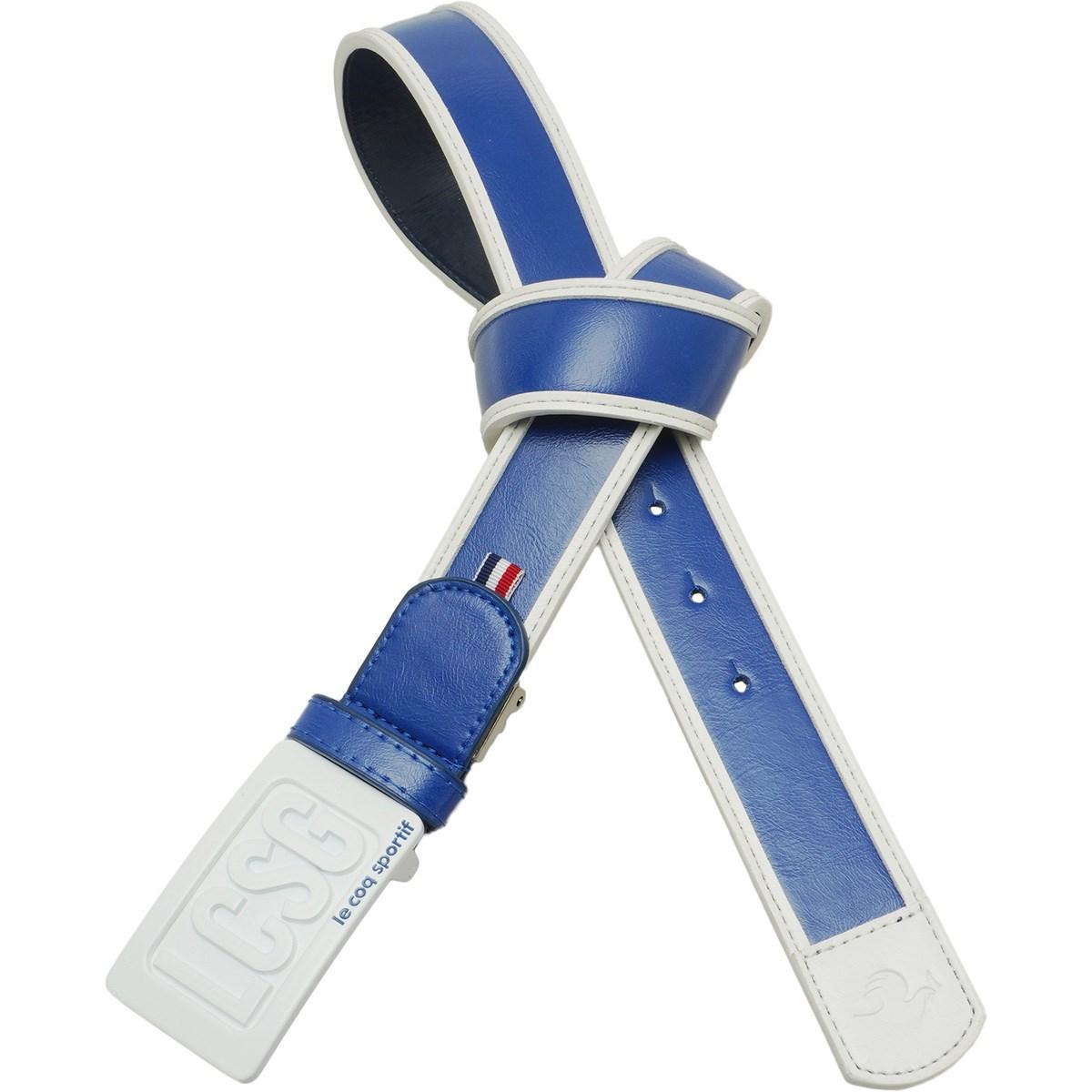 ルコックゴルフ Le coq sportif GOLF バイカラーラインベルト フリー ブルー 00 レディス