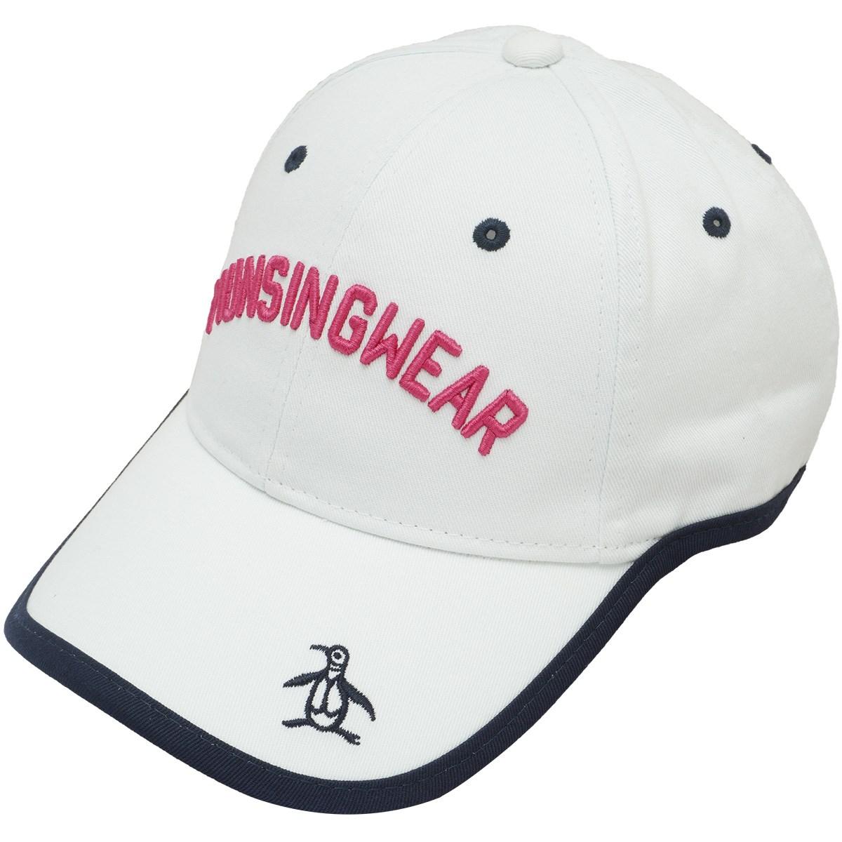 マンシングウェア Munsingwear ウェーブカットキャップ フリー ホワイト 00 レディス