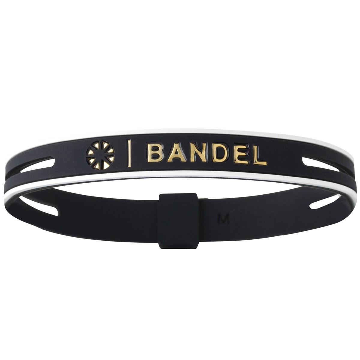 バンデル bandel ストリング メタリック ブレスレット M ブラック/ゴールド