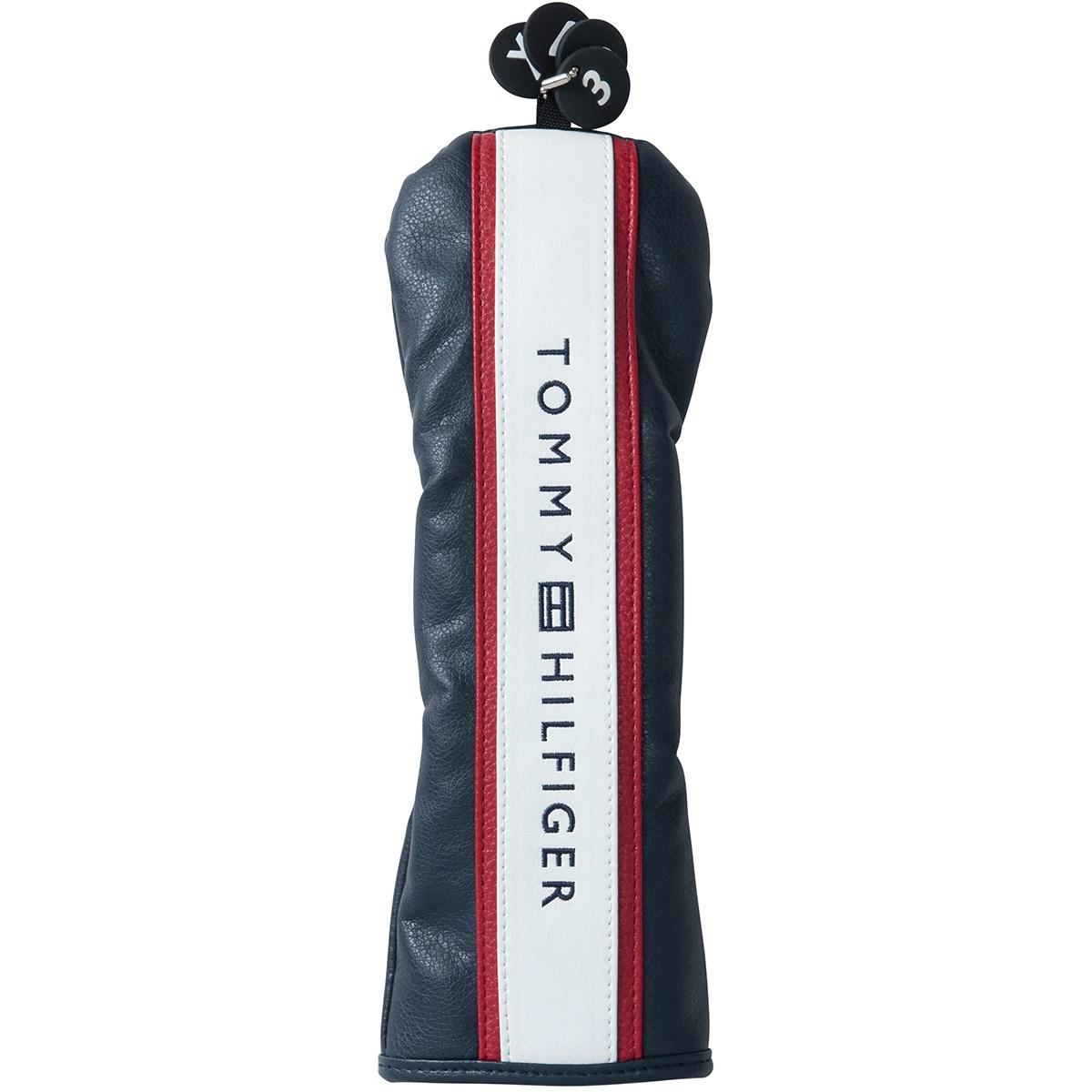 トミー ヒルフィガー ゴルフ TOMMY HILFIGER GOLF スリッポン型ヘッドカバー FW用 有り/番手付け替え式(3、5、7、X) ネイビー 30