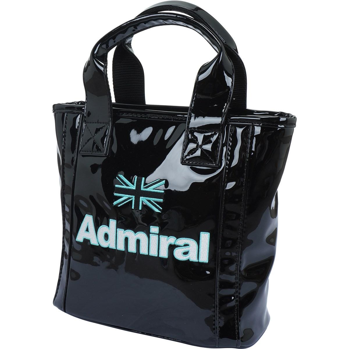 アドミラル Admiral エナメルシリーズ ラウンドバッグ ブラック 10