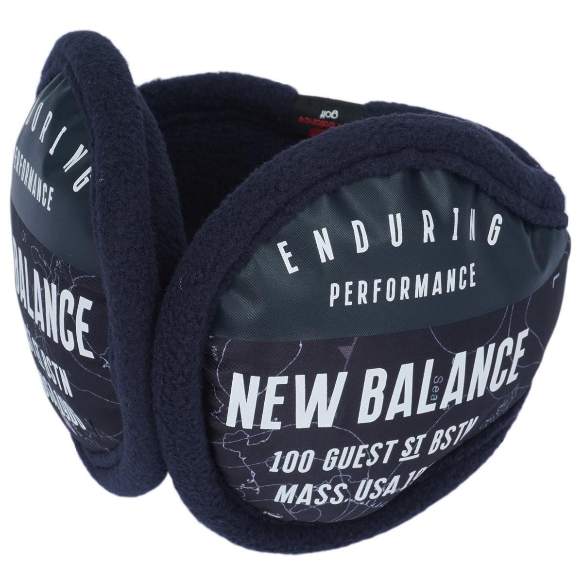 ニューバランス New Balance METRO イヤーマフ ネイビー フリー