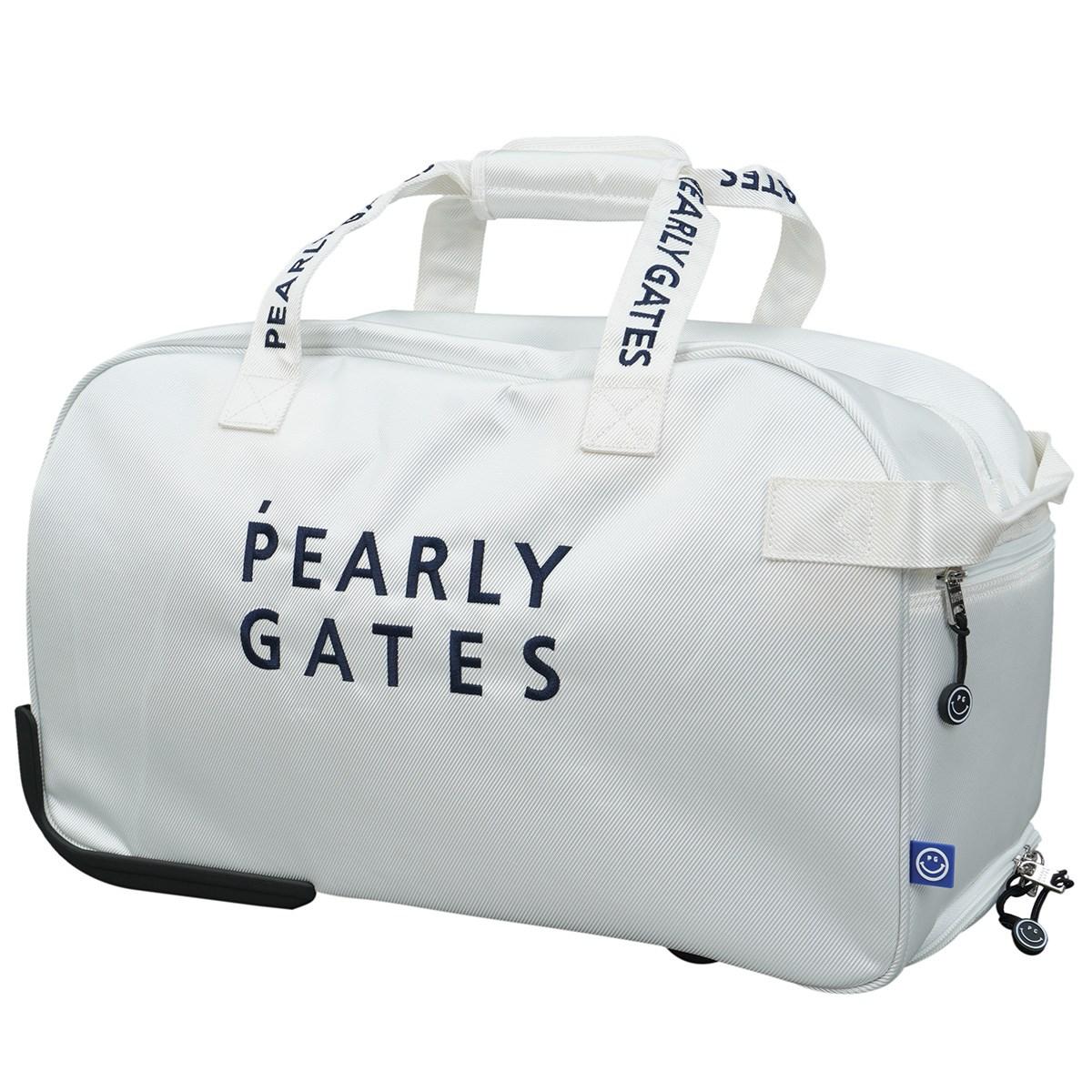 [2021年モデル] パーリーゲイツ PEARLY GATES キャリー付きボストンバッグ ホワイト 030 メンズ ゴルフ