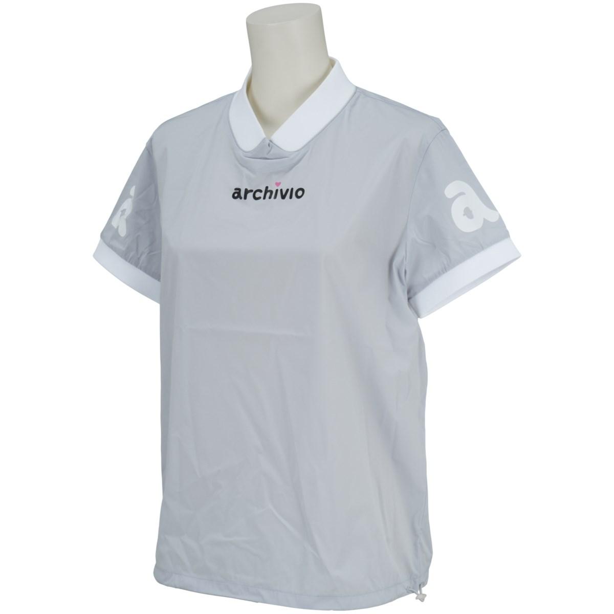 アルチビオ archivio 半袖シャツ 36 グレー 089 レディス