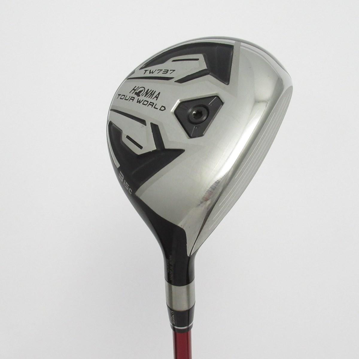 【中古】本間ゴルフ TOUR WORLD ツアーワールド TW737C フェアウェイウッド VIZARD EX-C65 シャフト:VIZARD EX-C65 S 3W 15° 42.75inch
