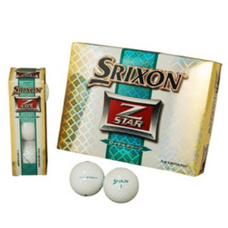 スリクソン Z-STAR ロイヤルグリーン ボール SNZSTGRNL12